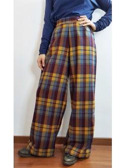 Pantalone Tartan Multicolor